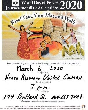 World Day of Prayer 2020 worship: Rise! Take Your Mat and Walk