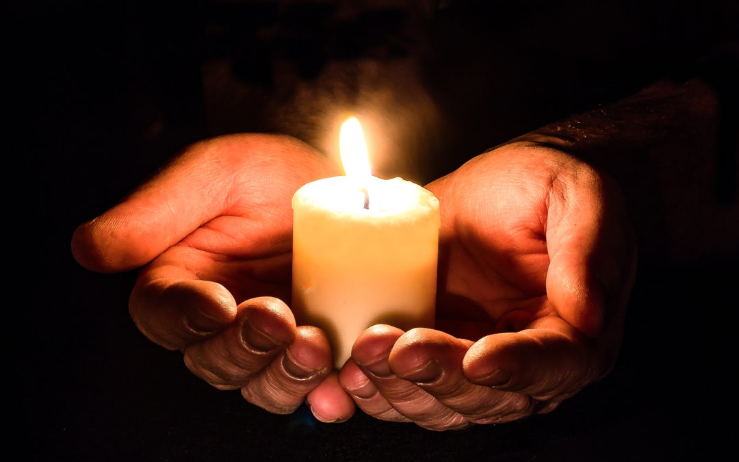 Manitoba vigils for Light a Flame for Livable Income