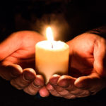 Manitoba vigils for Light a Flame for Livable Income
